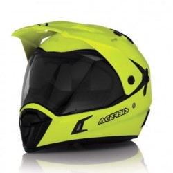 Acerbis casco cross enduro Active giallo fluo casque helmet