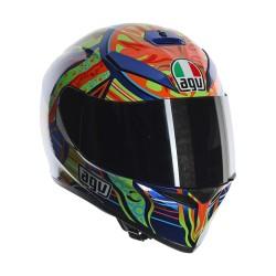 Agv casco K3sv Pinlock replica Five Continents Valentino Rossi