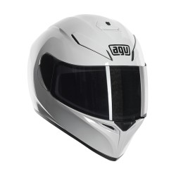 Agv casco K3sv mono gloss white bianco helmet casque integrale