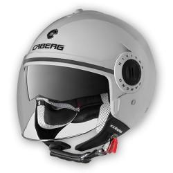 Caberg casco jet Riviera V2 bianco lucido helmet casque