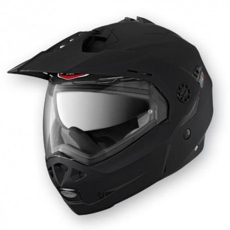Caberg casco jet modulare Tourmax nero opaco matt black helmet casque
