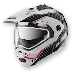 Caberg casco jet modulare Tourmax Sonic bianco helmet casque