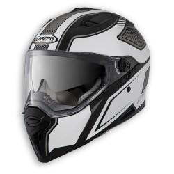 Caberg casco Stunt Blade integrale nero-bianco helmet casque
