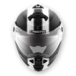 Caberg casco Duke black-white jet modulare helmet casque