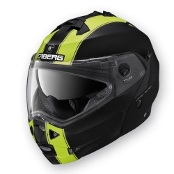 Caberg casco Duke Legend black-yellow jet modulare helmet casque