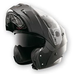 Caberg casco Duke smart nero lucido jet modulare helmet casque