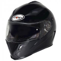 Suomy casco Halo plain matt black nero opaco integrale helmet casque