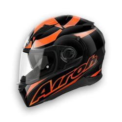 Casco Airoh Movement Shot black orange integrale helmet casque
