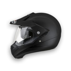 Casco Airoh S5 integrale enduro nero opaco helmet casque