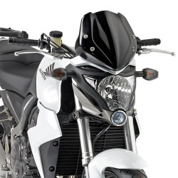 Givi cupolino + attacchi Honda CB1000R dal 2011 al 2014 nero