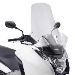 Givi cupolino Honda Integra parabrezza trasparente 72x69 cm
