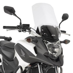 Givi cupolino Honda NC700X parabrezza trasparente 49x41 cm