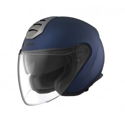 Schuberth casco jet M1 Paris blu helmet casque