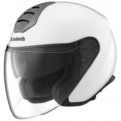 Schuberth casco jet M1 Vienna White helmet casque
