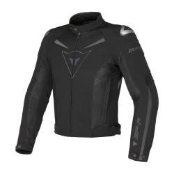 Dainese giacca Super Speed Tex nero-nero-dark gull jacket moto