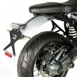 Barracuda Bmw R nineT moto portatarga regolabile classic con parafango