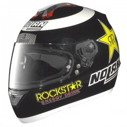 Nolan N63 casco casque helmet integrale replica Lorenzo Rockstar