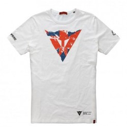 Dainese Silverstone moto t-shirt uomo tempo libero
