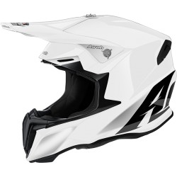 Casco Airoh Twist helmet bianco casque cross