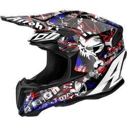 Casco Airoh Twist helmet Punk casque cross