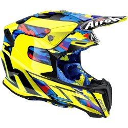 Casco Airoh Twist helmet replica Carioli casque cross