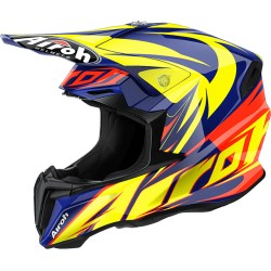 Casco Airoh Twist helmet Evil casque cross