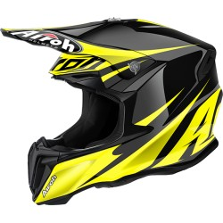 Casco Airoh Twist helmet Freedom yellow casque cross