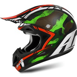 Casco Airoh Jumper helmet Warrior casque cross