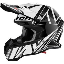 Casco Airoh Terminator 2.1 helmet Cut black casque cross