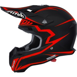 Casco Airoh Terminator 2.1 helmet Fit black-orange casque cross