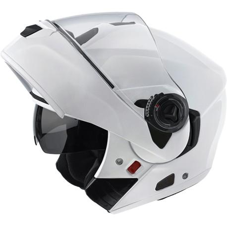 Casco Airoh Rides white gloss modulare doppia omologazione