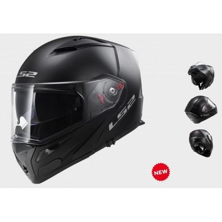 LS2 casco modulare Metro black matt nero opaco helmet casque