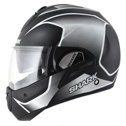 Shark Evoline Starq casco modulare black matt-white