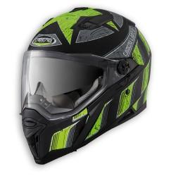 Caberg casco Stunt Steez integrale nero-giallo fluo helmet casque