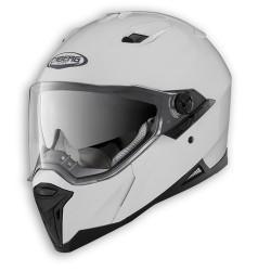 Caberg casco Stunt integrale bianco lucido helmet casque