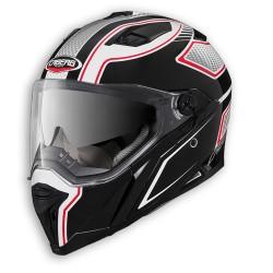 Caberg casco Stunt Blade integrale nero-bianco-rosso helmet casque