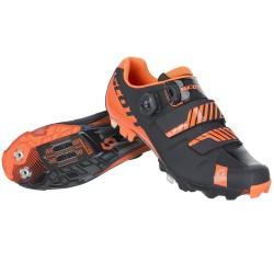 Scott scarpe ciclo Mtb Premium nere arancio fluo