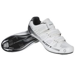 Scott paia scarpe ciclo Road Comp bianche bici
