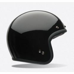 Bell Custom 500 casco jet vintage nero lucido casque helmet