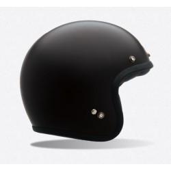 Bell Custom 500 casco jet vintage nero opaco casque helmet