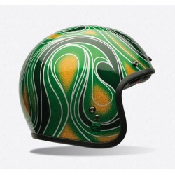 Bell Custom 500 casco jet vintage SE Chem Candy casque helmet