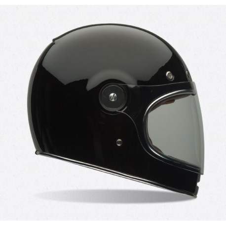 bell bullit casco integrale vintage nero lucido casque helmet. Black Bedroom Furniture Sets. Home Design Ideas