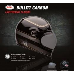 Bell Bullit Carbon RSD Bagger casco integrale vintage casque helmet