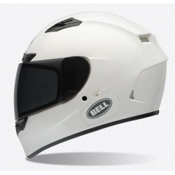 Bell Qualifier DLX solid white casco integrale casque helmet