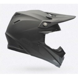 Bell Moto 9 solid nero opaco integrale Cross casque helmet