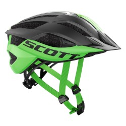 Scott casco ciclo Mtb Ark Plus bici bicicletta nero verde fluo
