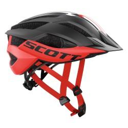 Scott casco ciclo Mtb Ark Plus bici bicicletta nero rosso