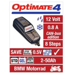 Tecmate Optimate 4 can bus caricatore mantenitore batterie moto scooter Atv