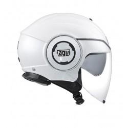 Agv casco jet moto Fluid white pearl helmet casque