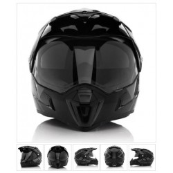 Acerbis casco cross enduro Active Graffix nero casque helmet